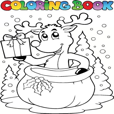 imagenes infantiles navideñas para colorear dibujos de navidad coloreados para imprimir