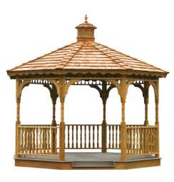 Wooden Gazebo Kits by Amish Wooden Gazebo Kits With Step By Step Instructions