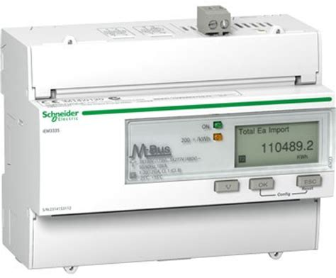 acti 9 iem3000 series meters from schneider electric now