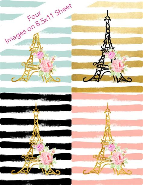 Scrapbook Modern Parisienne Chic 1000 Images About Stickers On