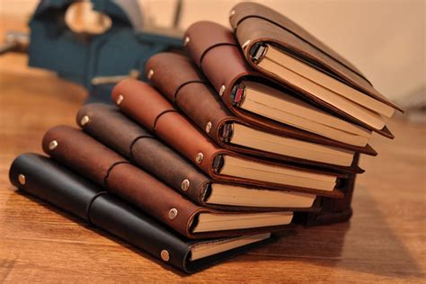 Diy Travelers Notebook Leather Cover Classic Reguler business diary a6 classic business fashion creative