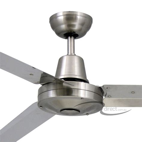 marine grade stainless steel outdoor ceiling fans vortex 3 52 quot 316 marine grade stainless steel 3 blade