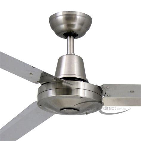 stainless steel outdoor ceiling fan vortex 3 52 quot 316 marine grade stainless steel 3 blade