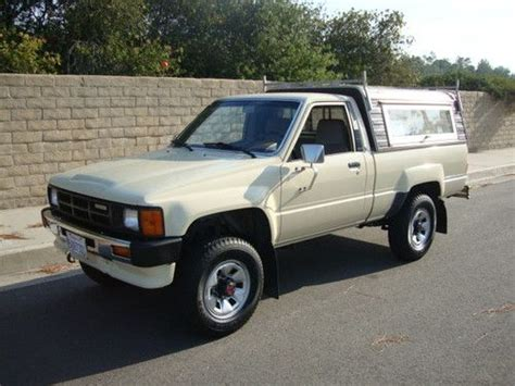 1986 Toyota 4x4 For Sale Sell Used 1986 Toyota 4x4 22r 96k Original