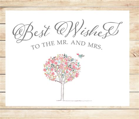 wedding message card template printable best wishes wedding card instant card
