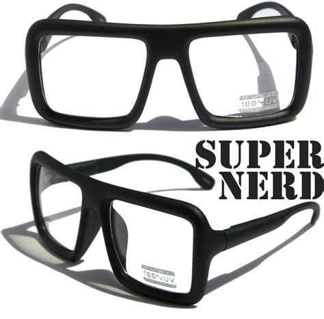 large retro bold thick square frame classic eye