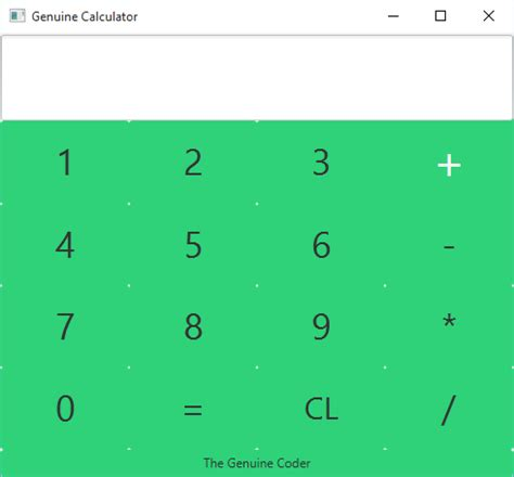 calculator javafx making calculator in javafx with source code