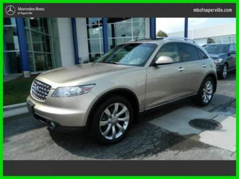 infiniti fx for sale by owner sell used 2004 infiniti fx35 1 owner in