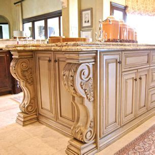 kitchen island with corbels corbels home decor ideas pinterest