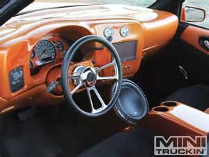 Truck Custom Steering Wheels 2000 Chevy S 10 Custom Chevy Trucks Mini Truckin Magazine