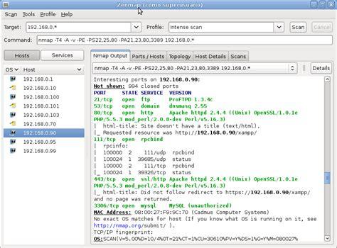 kali linux zenmap tutorial zenmap