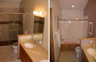bathroom remodel ideas before and after small bathroom renovations before and after http