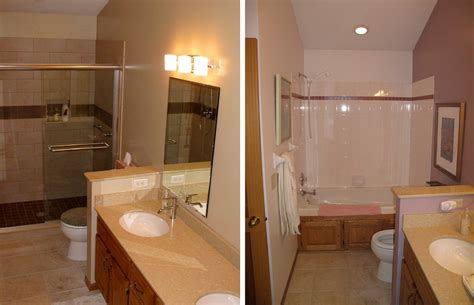 small bathroom renovations before and after small