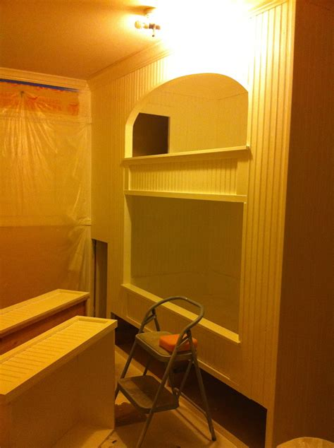futon bunk white built in bunk bed diy projects