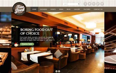 restaurant themes html 32 awesome restaurant themes wordpress psd html