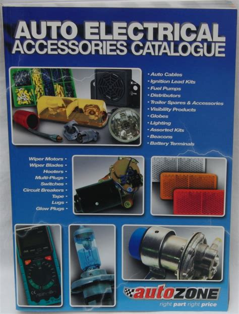 autozone launches  auto electrical vehicle parts  components catalogue road safety blog
