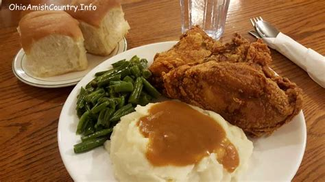 country style meals ohio amish country area map information