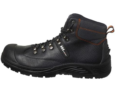 Sepatu Boots Safety Caterpilar Kansas Steel Toe Black 1 helly hansen aker mid safety boot ww mammothworkwear