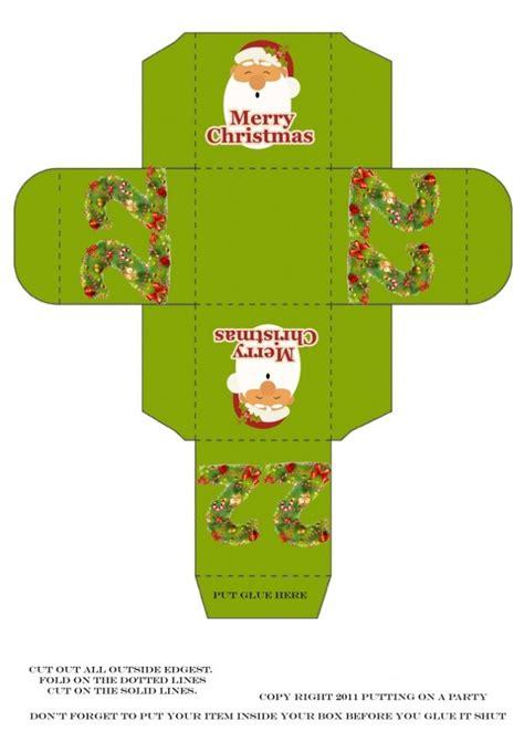 printable xmas boxes christmas printable boxes christmas pinterest
