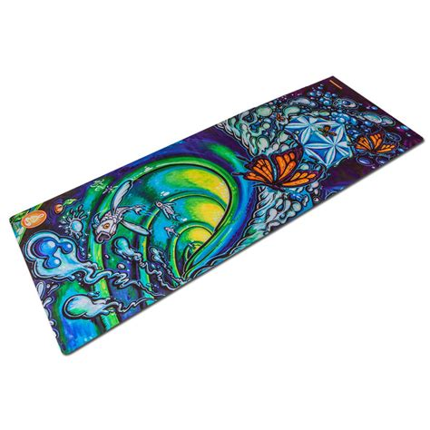 design photo mat art inspired yoga mats spiritual revolution