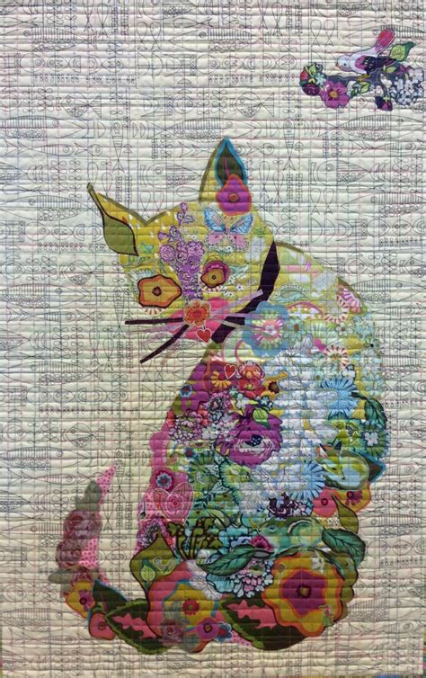 collage pattern ideas purrfect cat collage pattern by laura heine