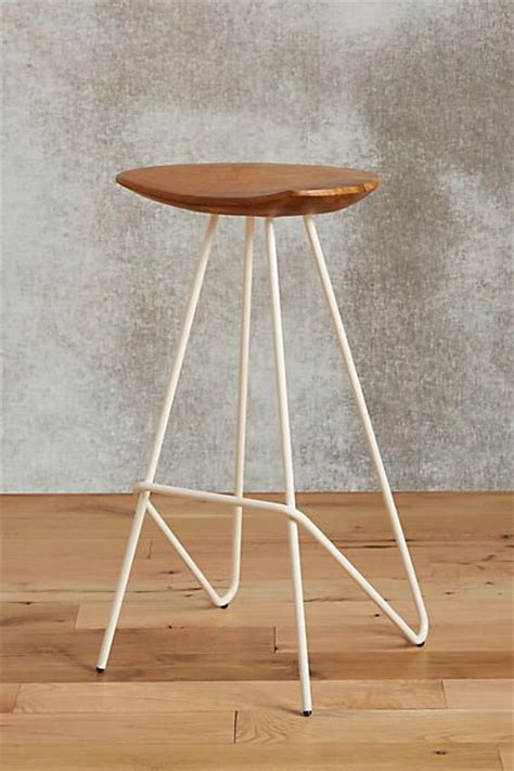 perch bar stool perch stool anthropologie bar and stools