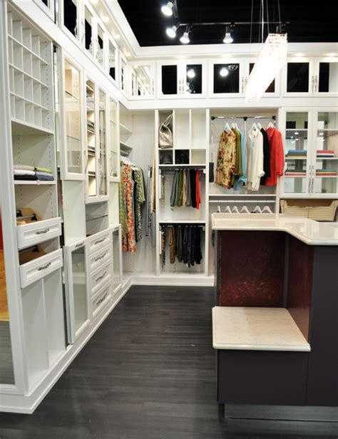 Cities Closets by Belissima White Master Closet Modern Closet