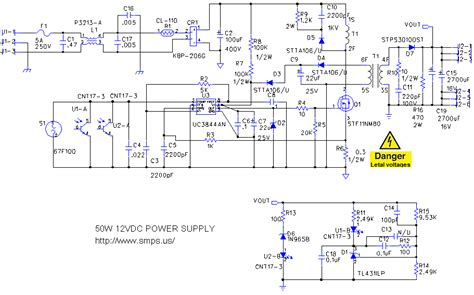 electronics projects 12v 50w switching regulator circuit