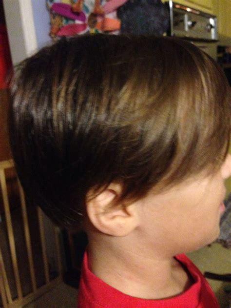 boy haircut long bangs boys hair cut with long bangs hair creations pinterest