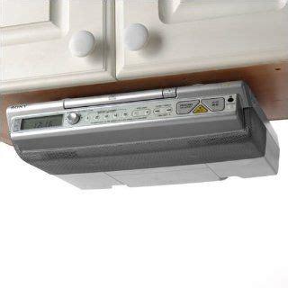 sony under cabinet kitchen radio cd player icf cdk50 sony icf cdk50 under cabinet kitchen cd player am fm clock