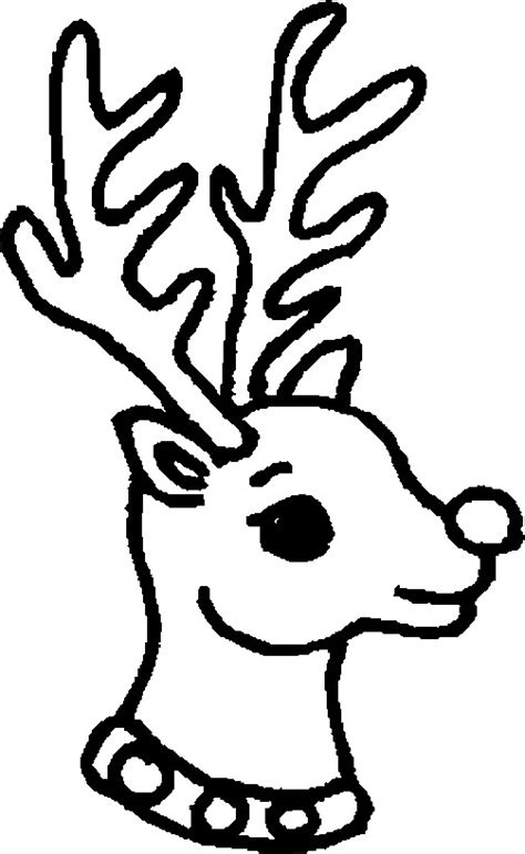 coloring pages for christmas reindeer christmas reindeer coloring pages coloringpages1001 com