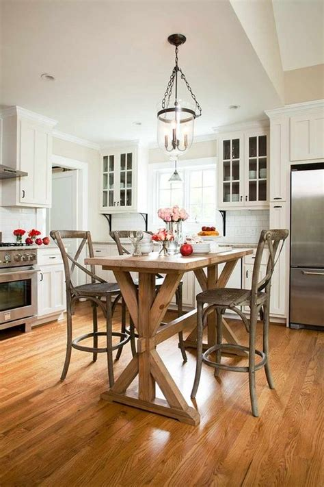 how tall is a kitchen island 1000 ideas about tall kitchen table on pinterest small