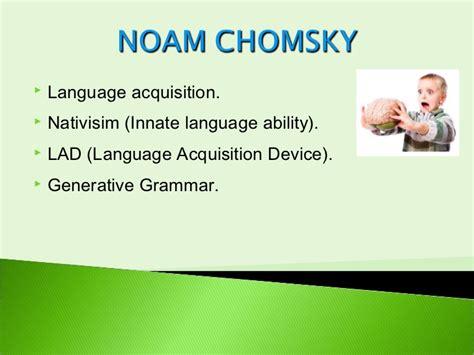 Language Acquisition Device Universal Grammar