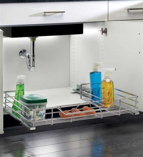 sliding sink organizer sliding sink organizer u shaped in sink