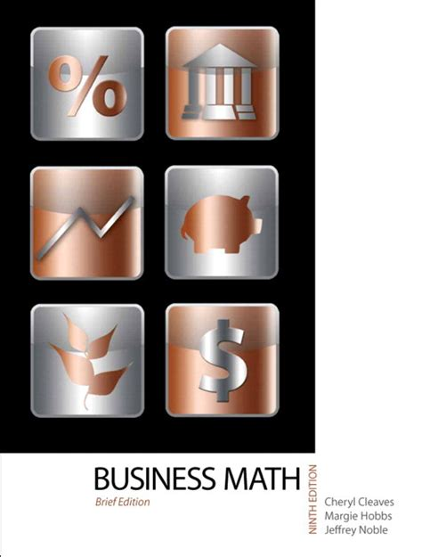 Business Mathematics Book For Mba by Cleaves Hobbs Noble Business Mathematics Brief