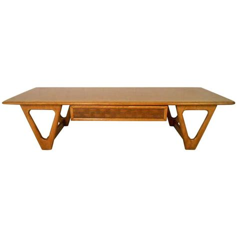 mid century modern coffee table mid century modern perception coffee table for sale at 1stdibs