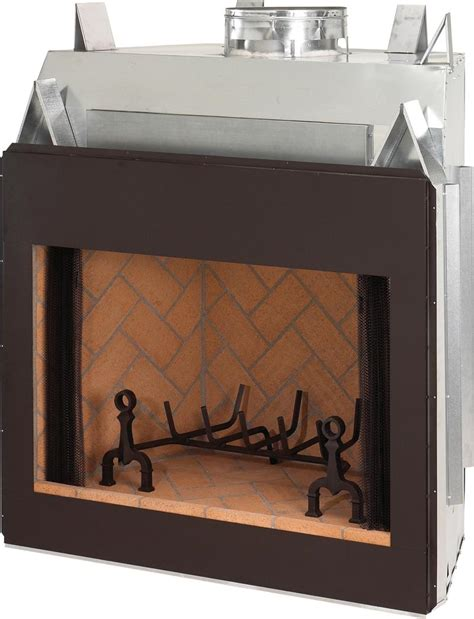 Indoor Wood Burning Fireplace 36 Quot Superior Signature Series Masonry Indoor Wood Burning