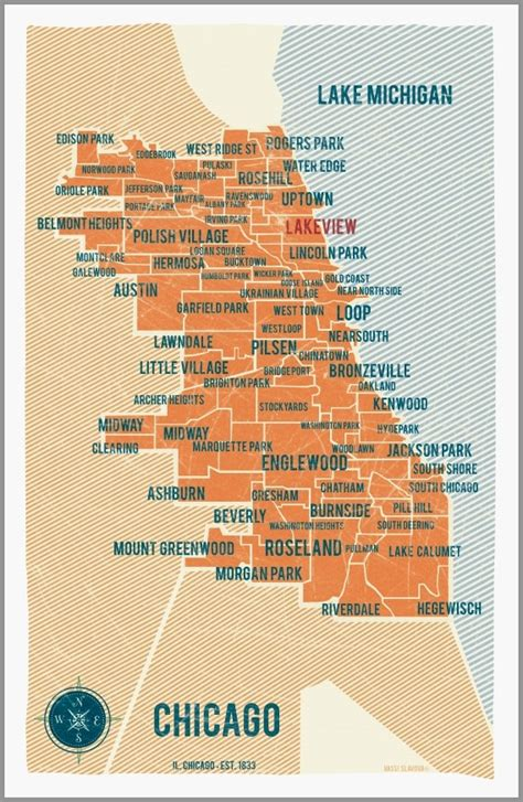 chicago map print top 25 ideas about lakeview neighborhood chicago il on
