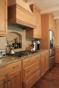 Natural Oak Kitchen Cabinets by Custom Cabinetry Project Gallery Plain Amp Fancy Cabinetry