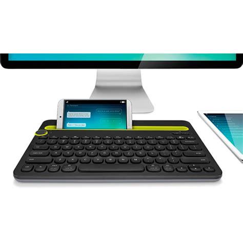 Keyboard Multi Device Bluetooth Logitech K480 Black logitech k480 multi device bluetooth keyboard black 920 006380 mwave au