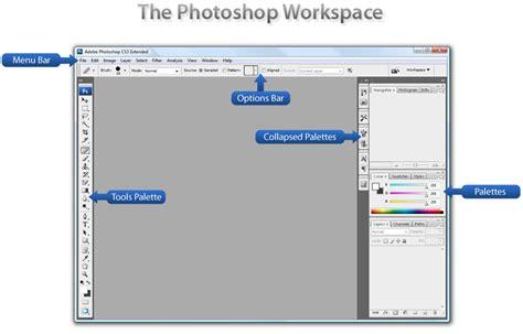 photoshop cs3 workspace tutorial adobe photoshop workspace wikiversity