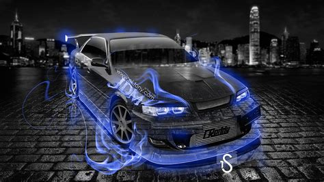 jdm tuner toyota chaser tuning jzx100 jdm fire crystal car 2013 el