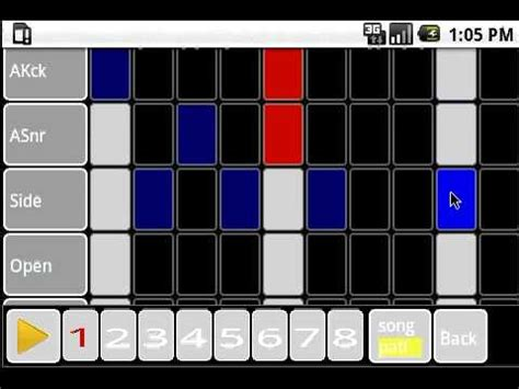 cadeli drum machine free apk download free music audio cadeli drum machine on android demo youtube