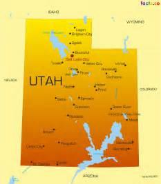 Map Of Utah State by Utah Map My Blog