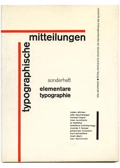 modernismcom tschichold jan typographische