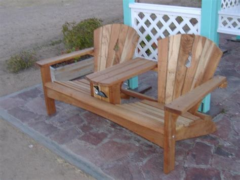 adirondack loveseat plans double adirondack chair plans free projects pinterest