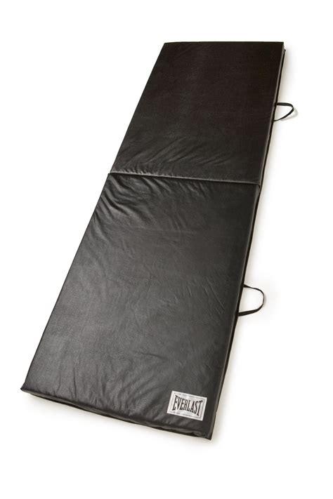 Everlast Folding Exercise Mat everlast 174 2 x6 folding exercise mat black shop your way