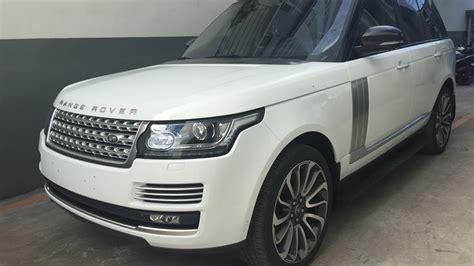 range rover white interior range rover autobiography fuji white interior cherry