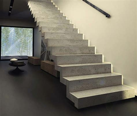 Interior Concrete Stairs Design Modern Stairs Inspiring Ideas For The Interior Of Your Home Hum Ideas