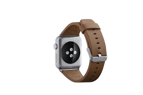 Leather Band For Apple 38mm 42mm belkin smart classic leather band wristband for